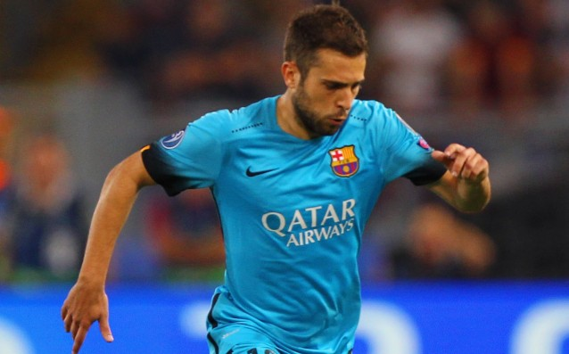 Barca is going to be without Jordi Alba vs. Celta Vigo