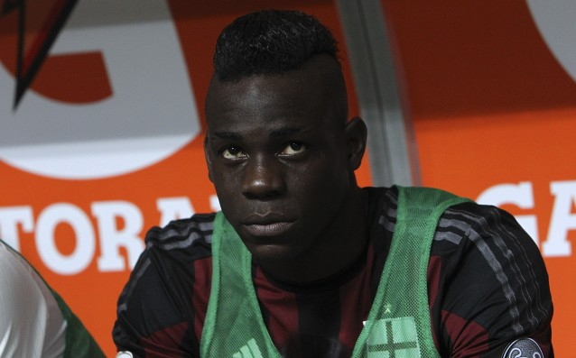 Muscle problem is bothering Mario Balotelli