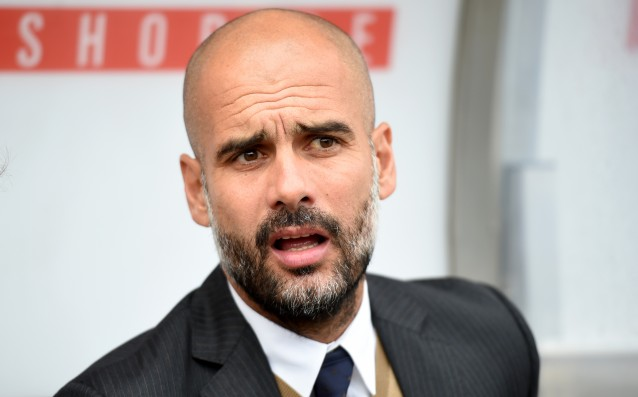 A question for England annoyed Guardiola