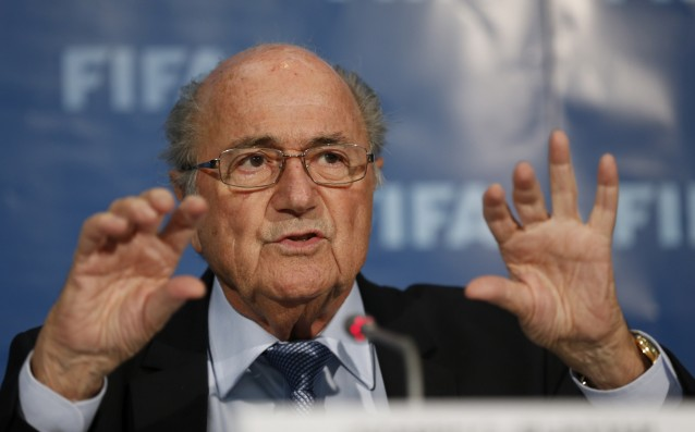 Blatter: 'I will remain President of FIFA.'