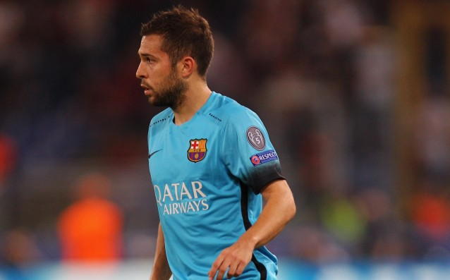 Alba is back to Barcelona