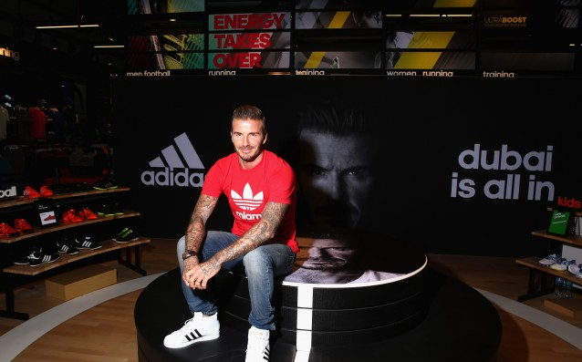 Beckham predicted a title for AC Milan in the Champions League