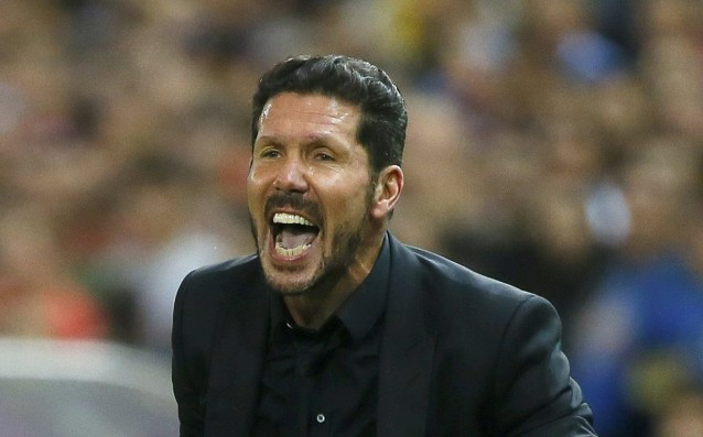 Simeone suffered about the lost points