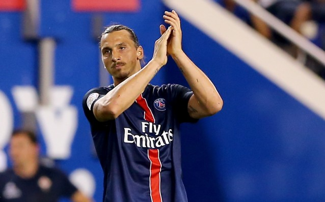 Ibra got into history, he became a topscorer of the PSG