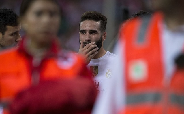 Carvajal will be out of the game for October