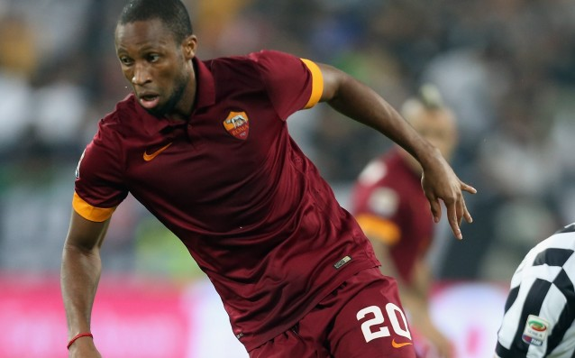 Roma announced that Keita will be out for five weeks