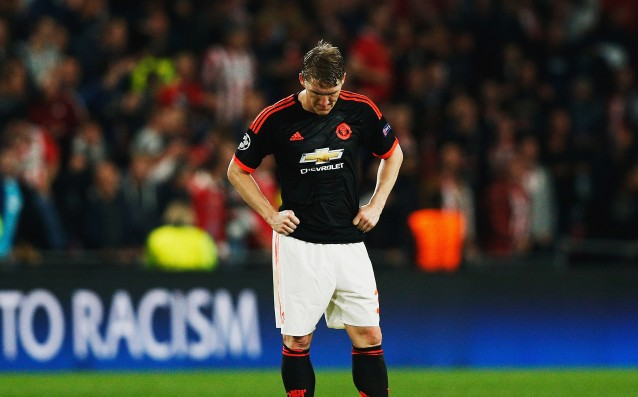 Schweinsteiger is injured again