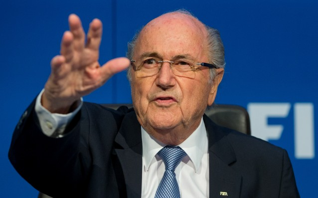 Blatter insisted: 'I want to go back to the post after 10 days.'