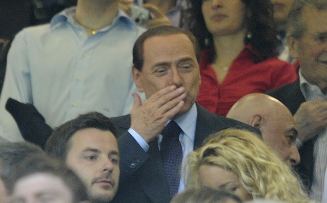 Silvio Berlusconi to Mihailovic: 'We believe in you.'