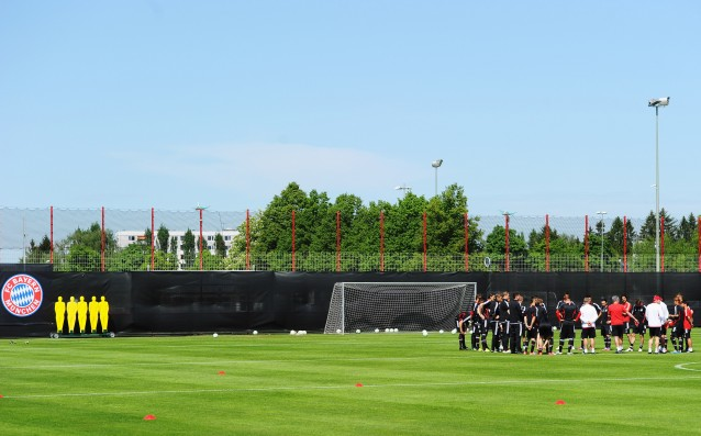 Bayern began the construction of a new base for the youngsters