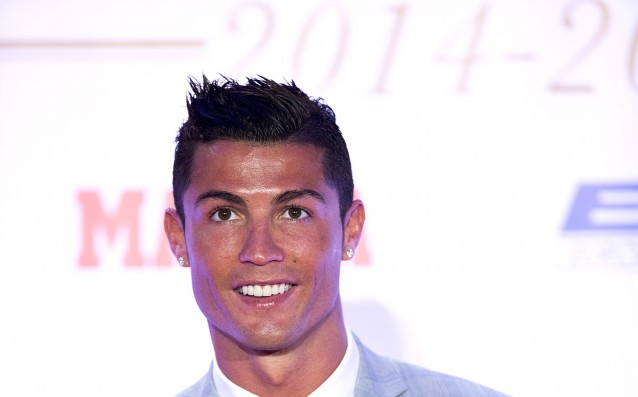 Ronaldo is a face of famous sports brand
