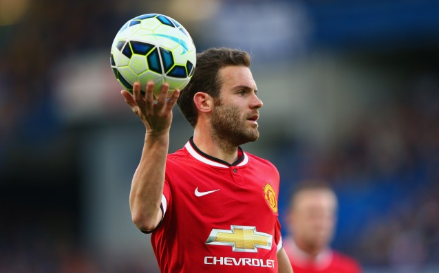 The fans of Manchester United chose Mata for no.1 in September
