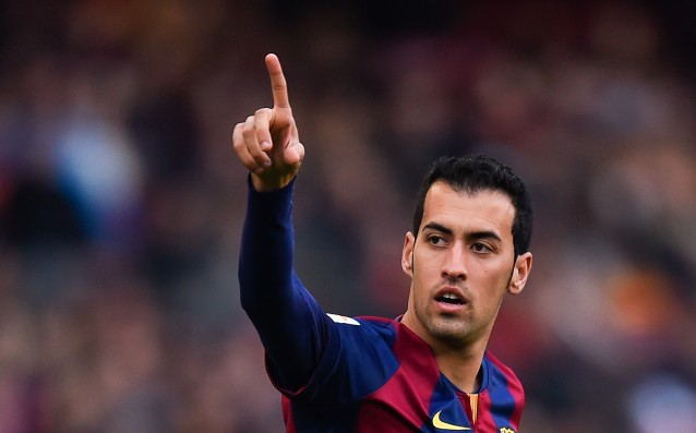 Sergio Busquets will became a father of a boy