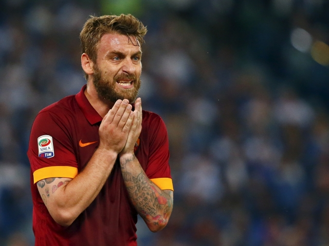 De Rossi is questionable for the derby with Inter