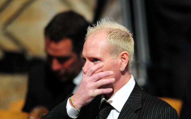 Gascoigne was fined for harassing his ex