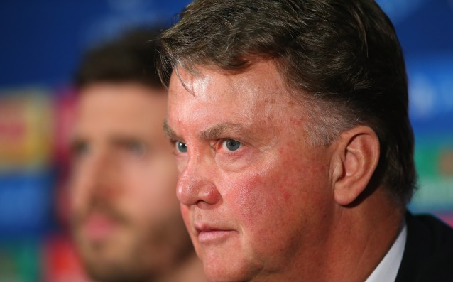 Van Gaal told his players to ignore the fans