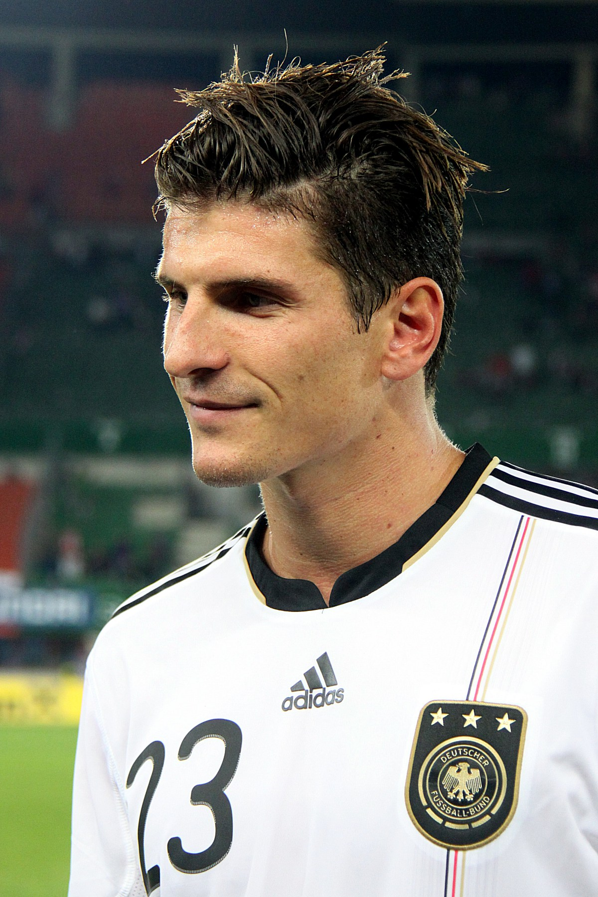 Mario Gomez returned to the Bundess team