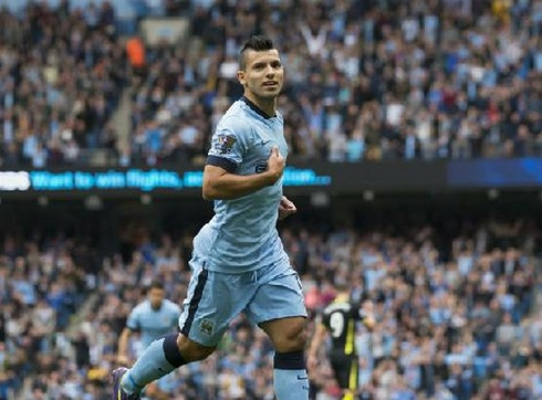 Aguero will play against Liverpool