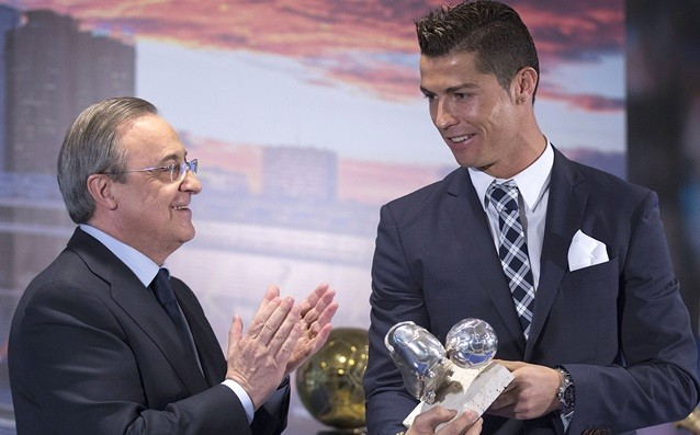 Ronaldo to Perez: 'We won't win anything with Benitez.'