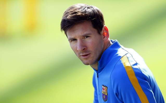 Messi is training well