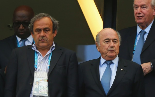 FIFA confirmed the penalties of Blatter and Platini