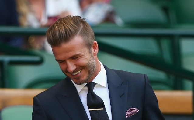 David Beckham is the sexiest man on the planet