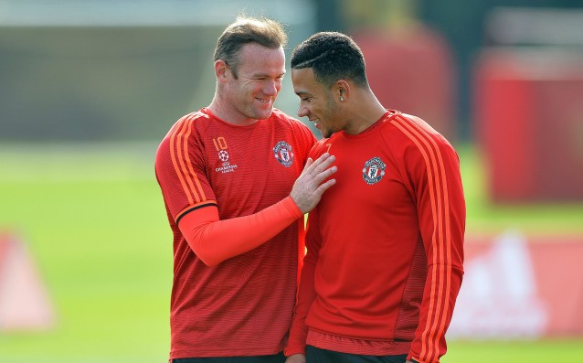 Rooney and Marshal have redone training with United