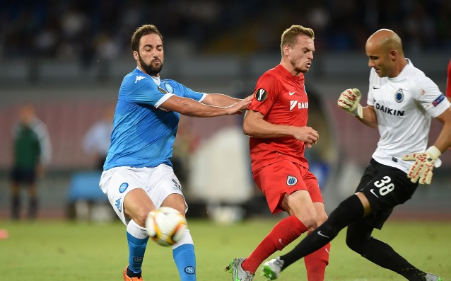 Bruges vs. Napoli will be without an audience