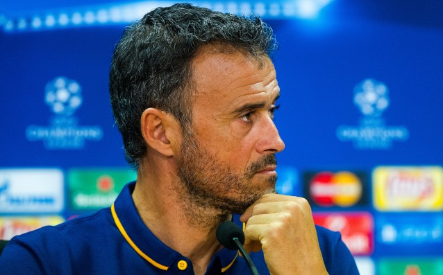 Luis Enrique: 'Flattery makes you weak.'