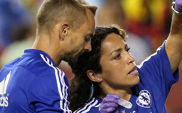 Eva Carneiro got a new job