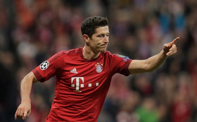 Four Guiness awards for Lewandowski