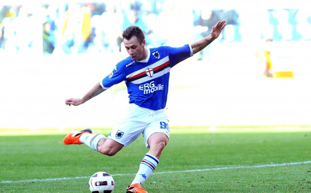 Sampdoria denied the scandal with Cassano