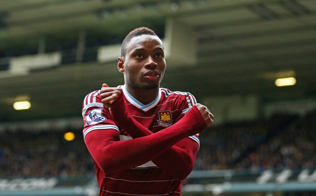 West Ham lost Diafra Sakho for two months