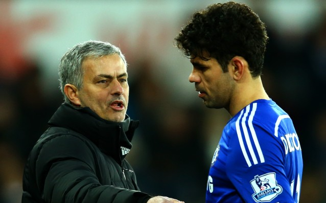 Mourinho: 'I don't have a problem with Costa, he is feeling great.'