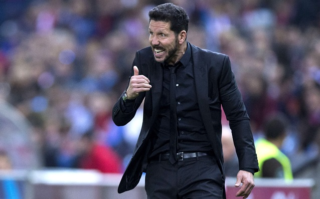 Diego Simeone became the coach of November in the Primera