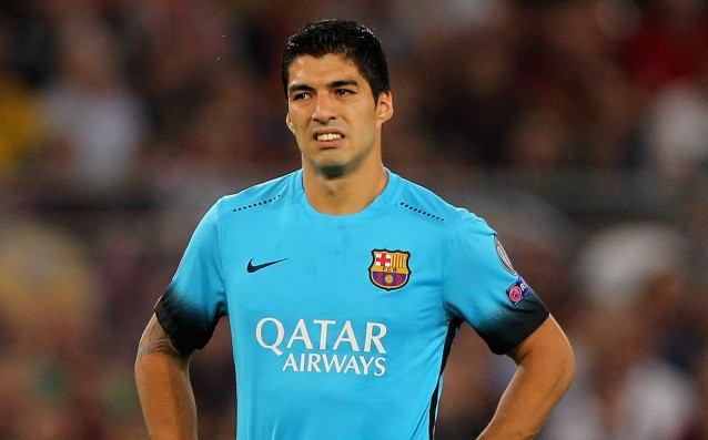 Luis Suarez: 'In the trio of Barca we are all equal.'