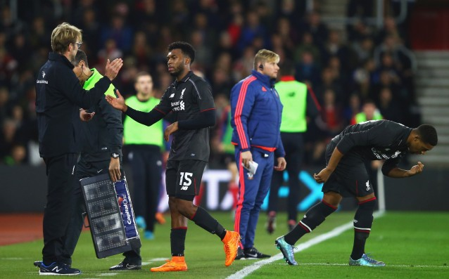 Sturridge is with a new injury, he will be out for a month