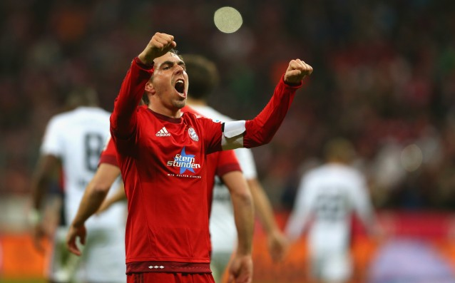 Philipp Lahm: 'Our match with Juventus is European classics.'
