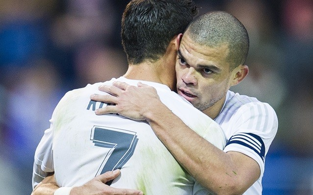 Pepe called for more team spirit in Real