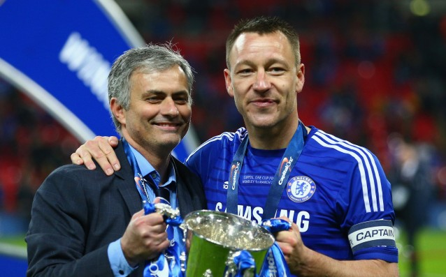 Terry spoke highly about Mourinho