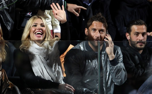 Totti's wife: 'It is time for Francesco to quit football.'