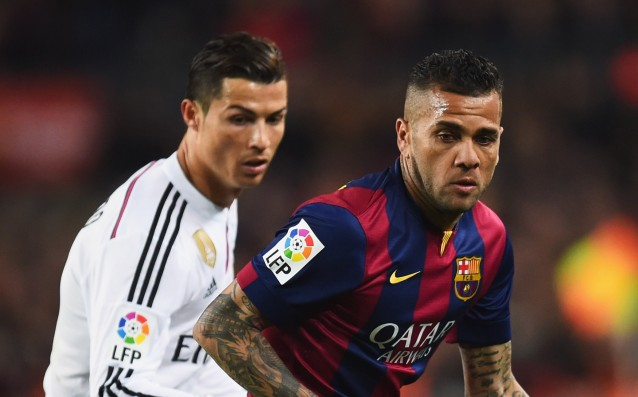 There were some 'sparks' between Ronaldo and Alves