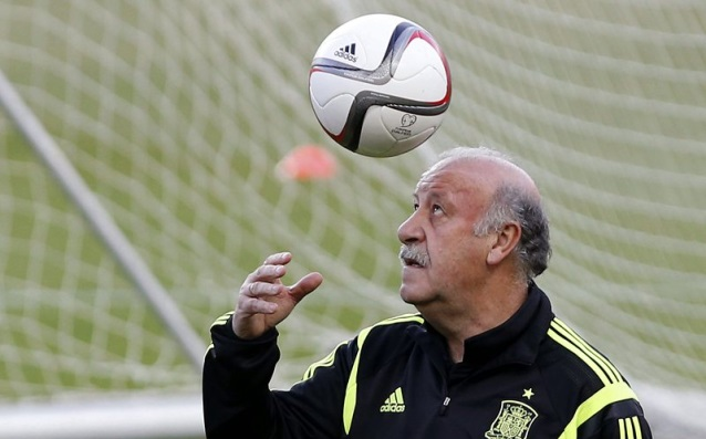 Del Bosque: 'I will hardly lead Spain in the Mondial 2018.'