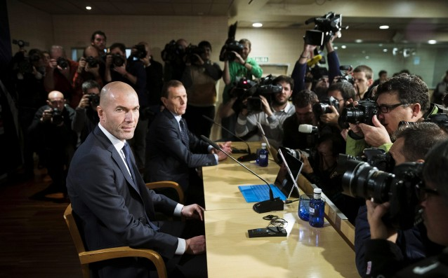 Zidane is displeased with the physical condition of the players of Real Madrid