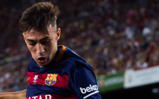 Barca is not going to part with Munir