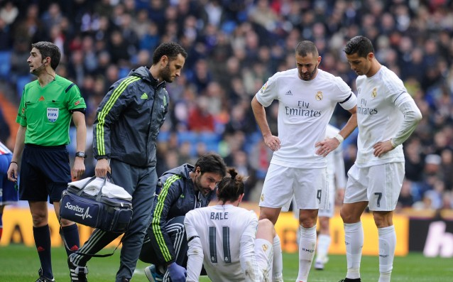 Bale will miss three games of Real