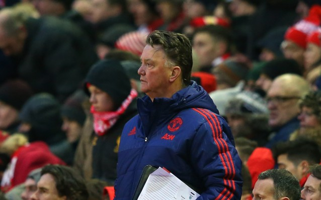 Van Gaal: 'United is still in the battle for the title.'
