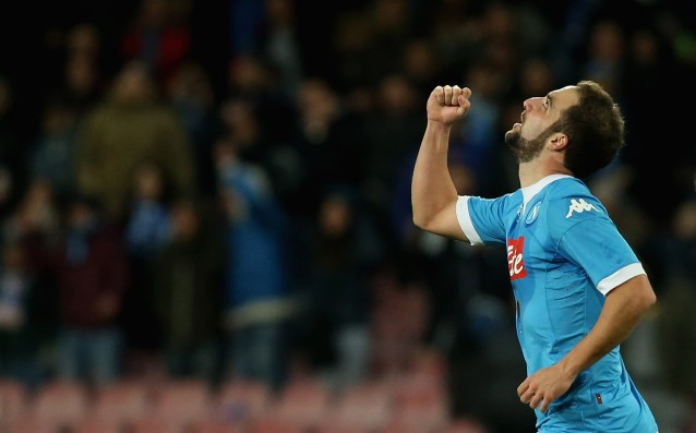 Napoli is trying hard to keep Higuain