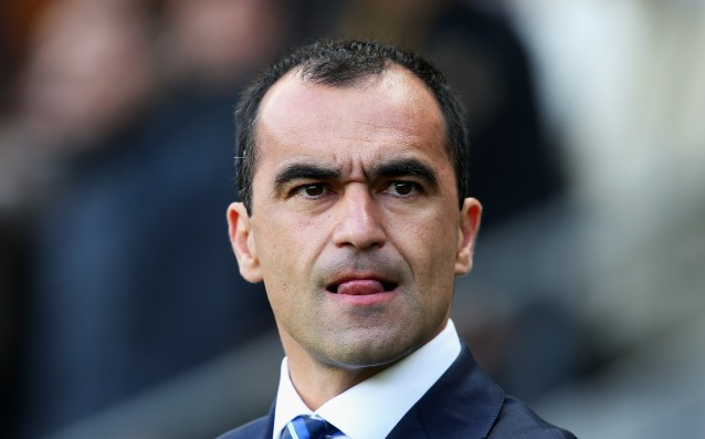 Roberto Martinez: 'We won't sell anybody in January.'