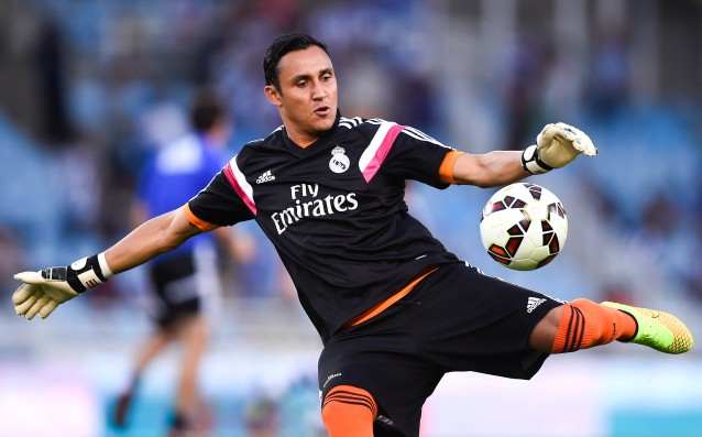 Navas: 'We needed a breath of air.'